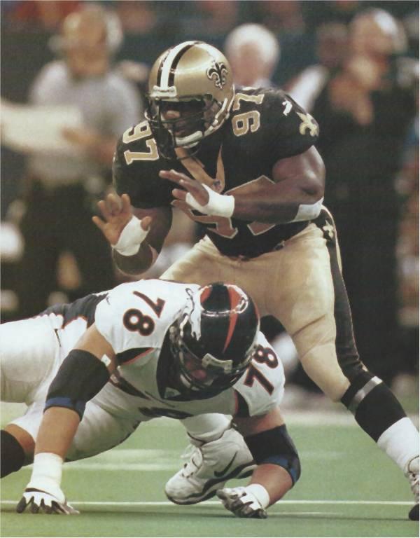 New Orleans Saints Pro Bowler La Roi Glover