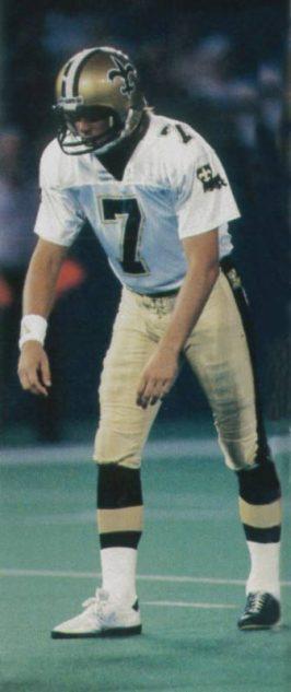 Morten Andersen , 1987 New Orleans Saints