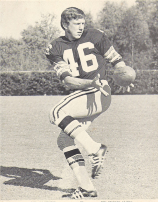 Photograph of New Orleans Saints receiver Danny Abramowicz