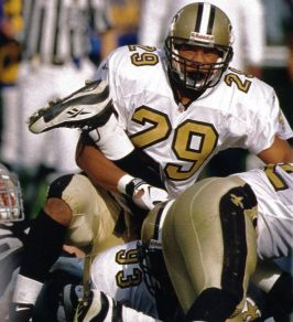Free Safety Sammy Knight of the New Orleans Saints