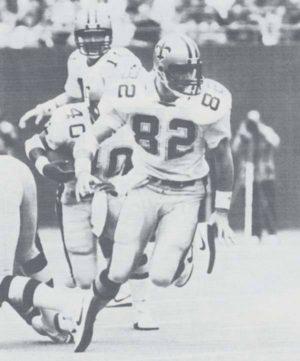 John Tice of the New Orleans Saints, 1983-1992