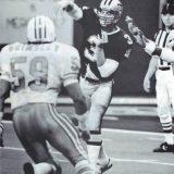New Orleans Saints Quarterback Bobby Hebert against