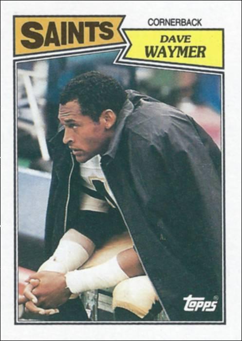 Dave Waymer 1987 Topps Card