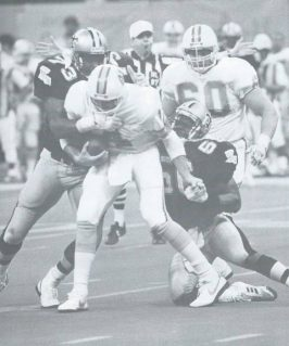 Pat Swilling and Frank Warren take down Bucs QB Vinnie Testaverde in 1987
