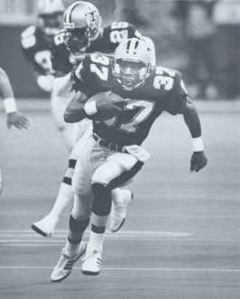 Mel Gray, New Orleans Saints, 1987 vs Tampa Bay