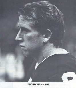 New Orleans Saints quarterback Archie Manning.
