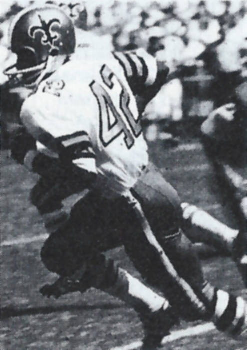 John Gilliam of the 1967 New Orleans Saints
