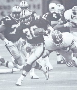 New Orleans Saints versus Denver Broncos 1988, Reuben Mayes