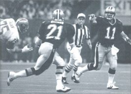 1990 New Orleans Saints- John Fourcade passes to Dalton Hillard