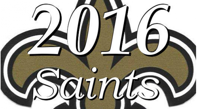 New Orleans Saints 2016 NFL Season Roster