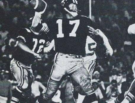 Billy Kilmer in a Black Helmet