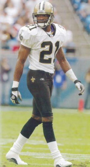 Dale Carter, New Orleans Saints 2002-2003