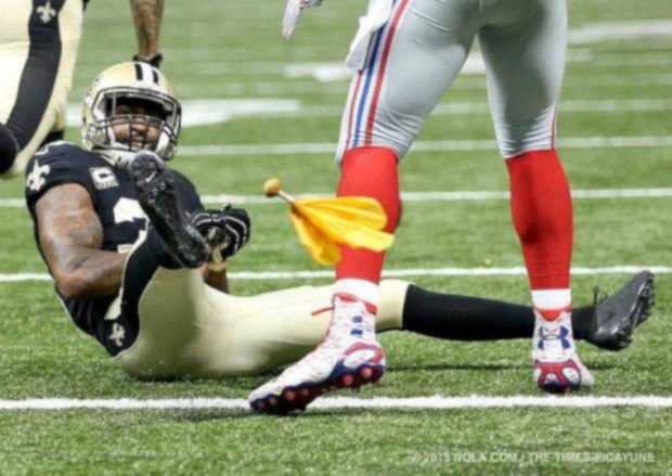 Brandon Browner, New Orleans Saints 20015