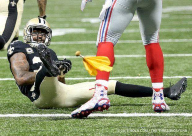 Brandon Browner, New Orleans Saints 20015
