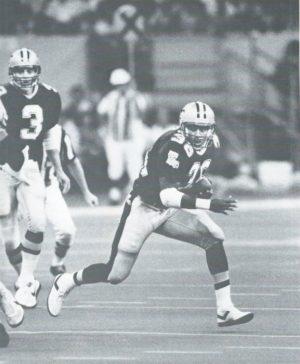 Reuben Mayes, 1987 Saints versus Browns