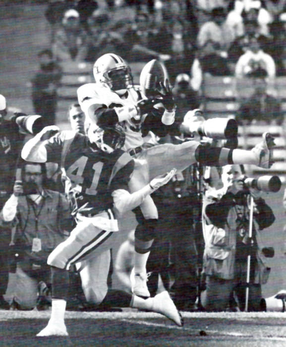Quinn Early against the Rams