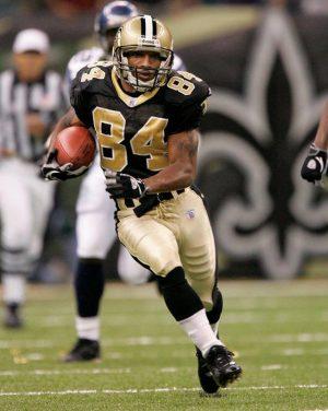 New Orleans Saints Player Michael Lewis