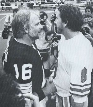 Oliers QB Archie Manning and Kenny Stabler