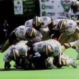 New Orleans Saints Defense stops the Eagles in 1991