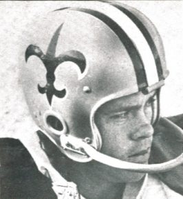 1967 Saints Kicker Charlie Durkee