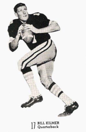 From a 1969 Saints Game Program - Quarterback Billy Kilmer