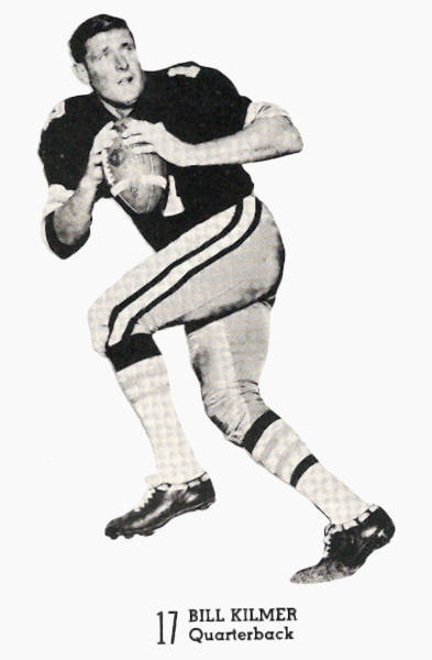 From a 1969 Saints Game Program - Quarterback Billy Kilmer