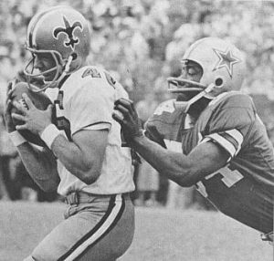 Danny Abramowicz, New Orleans Saints Receiver in the late 1960s.