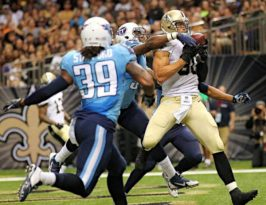 Jimmy Graham, New Orleans Saints Tight End 2010 to 2014