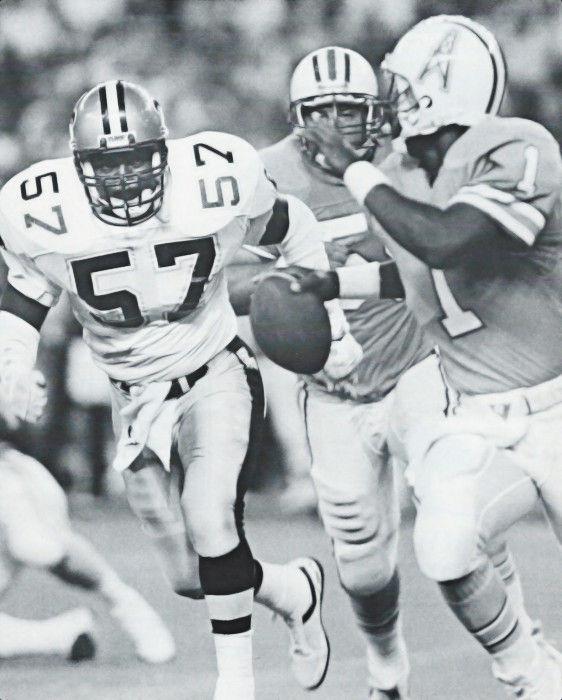 1986 NFL Preseason - Ricky Jackson Saints - Warren Moon Oilers