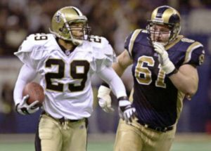 Sammy Knight Interception Against the Rams in the 2000 Playoffs
