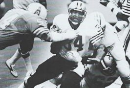 Tony Galbreath - 1981 New Orleans Saints versus Houston Oilers Preseason Game