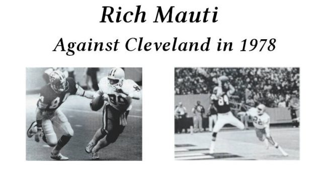 Featured Image for New Orleans Saints Special Teams Player Rich Mauti in 1978