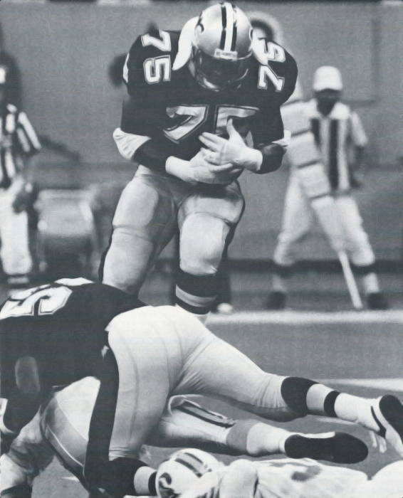 Bruce Clark fumble recovery 1986 New Orleans Saints