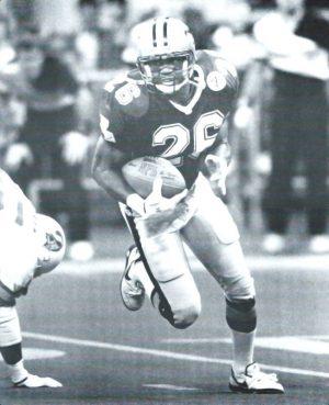 Vince Buck 52-yard punt return in 1991