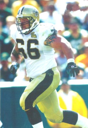 Brian Young of the 2006 New Orleans Saints Defense