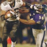 New Orleans Saints All-Time Career Rushing Leader Deuce McAllister