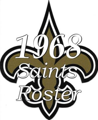 1968 New Orleans Saints Roster Logo