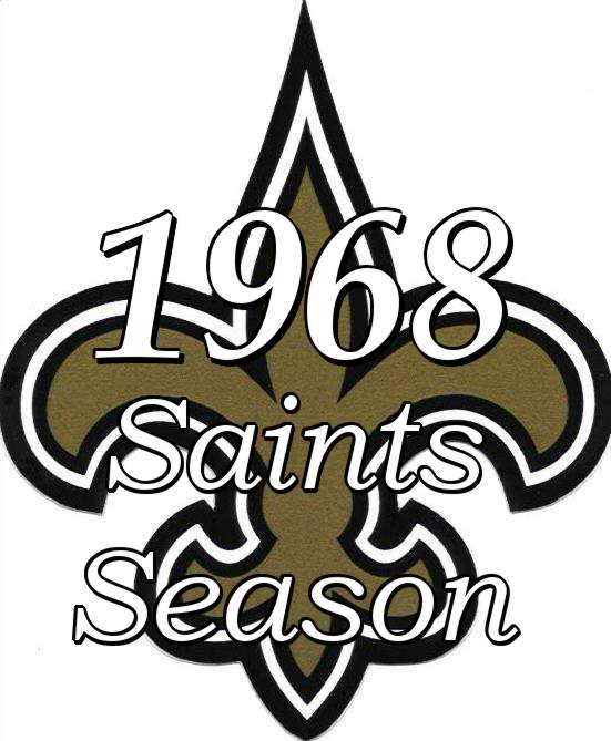 1968 New Orleans Saints NFL Season