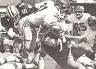 The 1969 New Orleans Saints defense against Washington