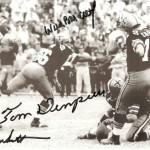 Tom Dempsey's record