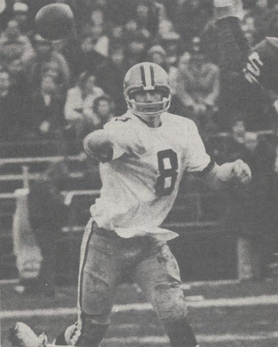 Saints Quarterback Archie Manning in 1973