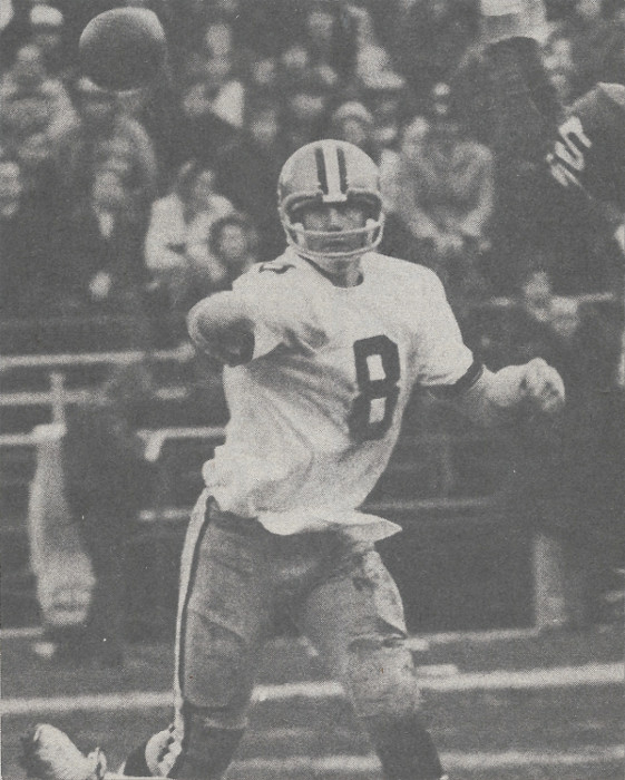 Saints Quarterback Archie Manning in 1973