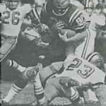 Dave Whitsell of the 1968 New Orleans Saints