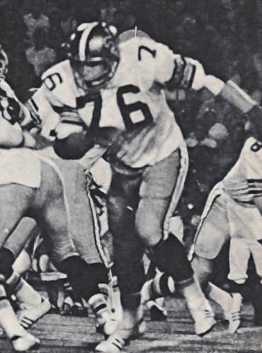 Don Morrison New Orleans Saints Rookie Tackle 1971