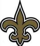 New Orleans Saints Logo - the Fleur di lis