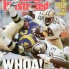Sports Illustrated Cover after the Saints upset the Mighty Rams 14-10 in 1988
