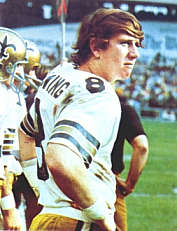 Archie Manning, rookie 1971 New Orleans Saints