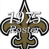 New Orleans Saints 1975 NFL Season Team Roster