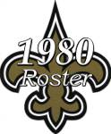New Orleans Saints 1980 NFL Season Team Roster