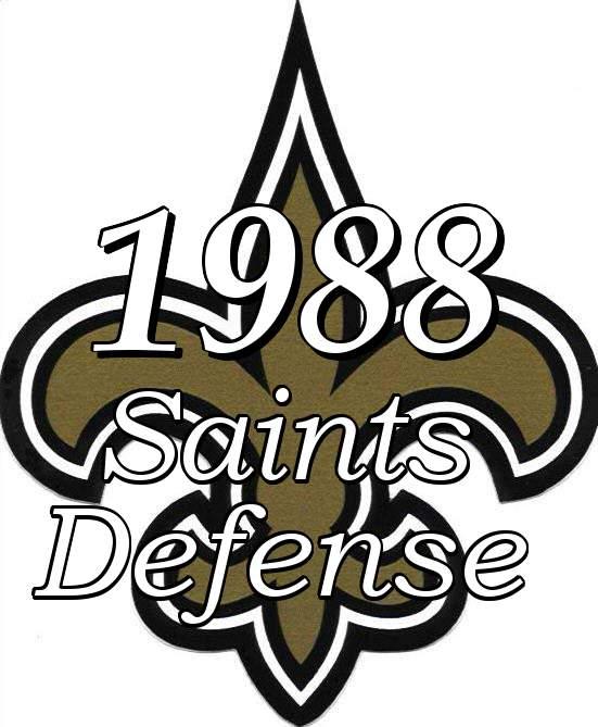 1988 New Orleans Saints Defense